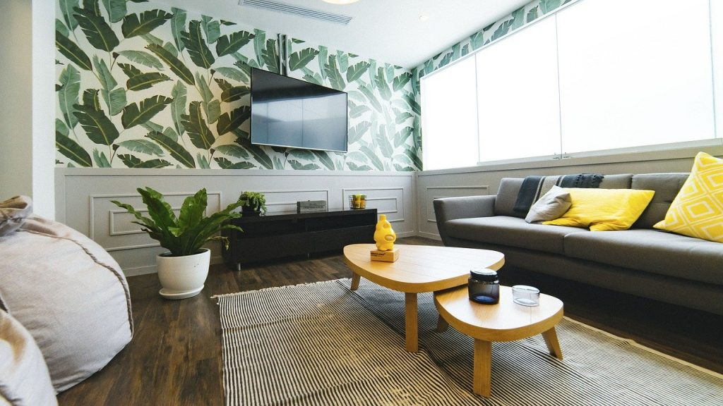 living room, house, interior