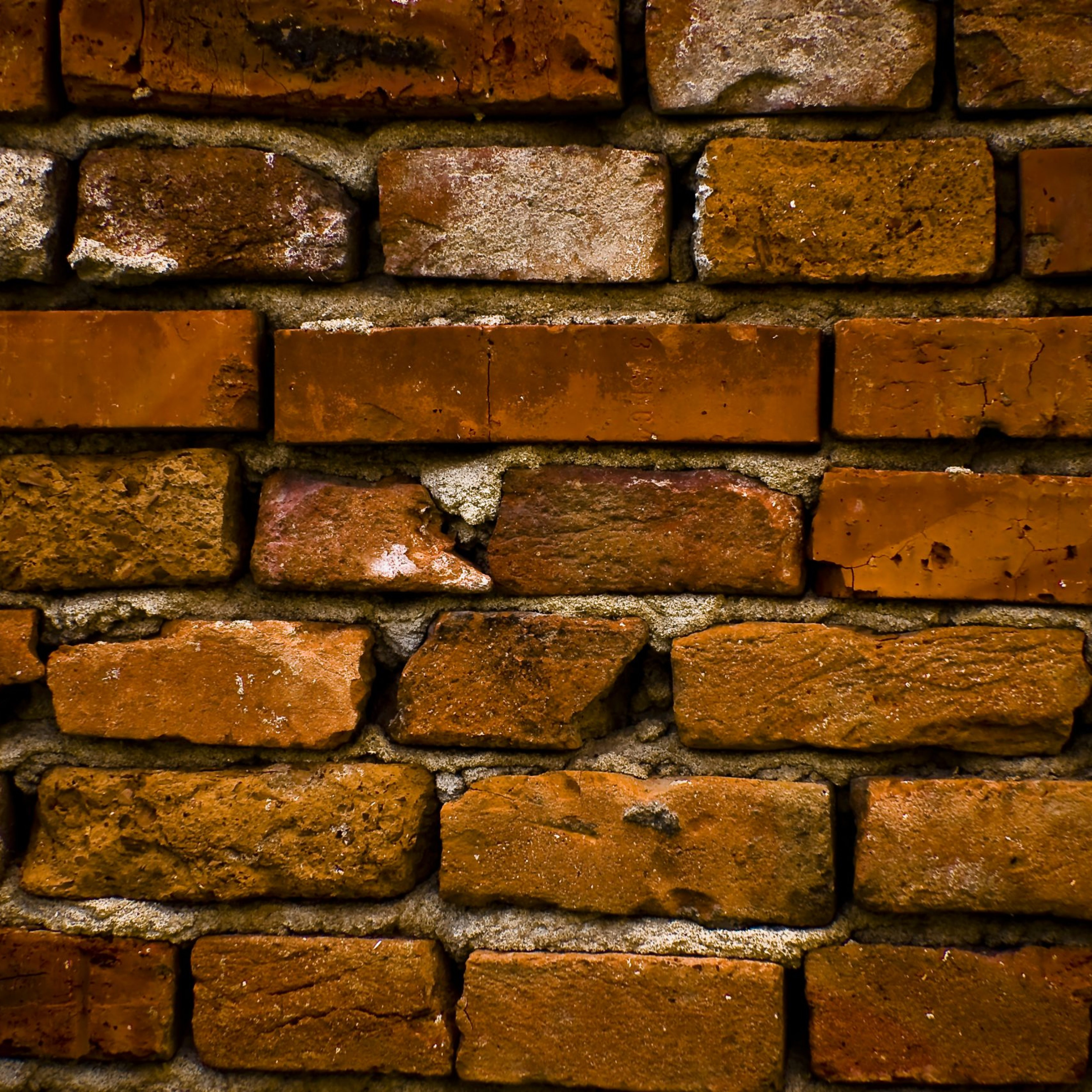 Wall from bricks